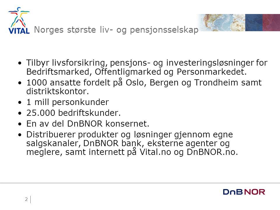 Norges største liv- og pensjonsselskap