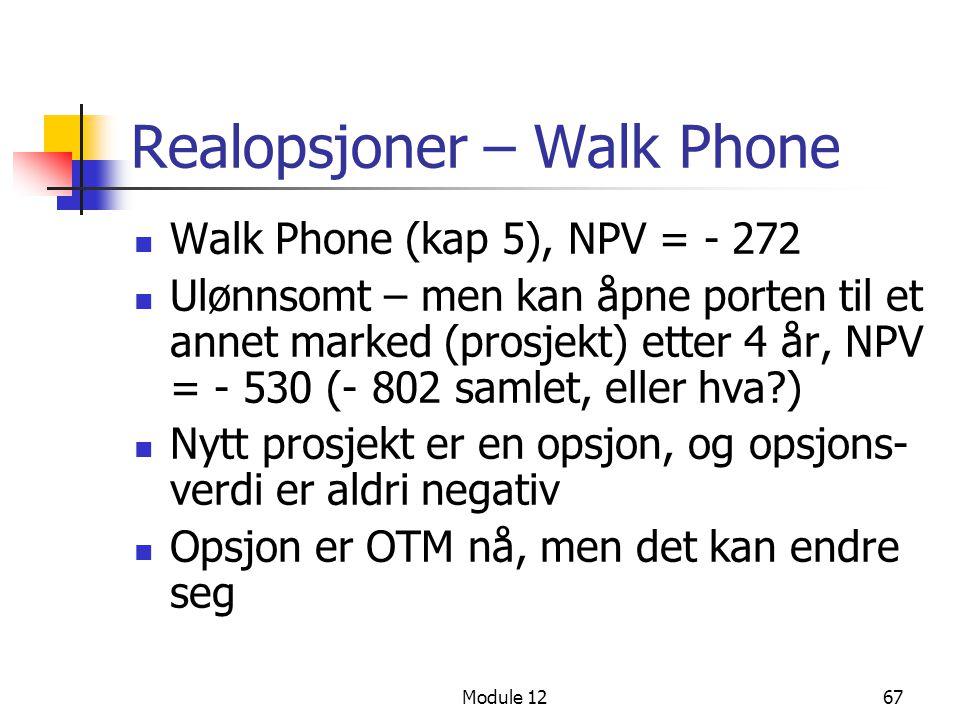 Realopsjoner – Walk Phone