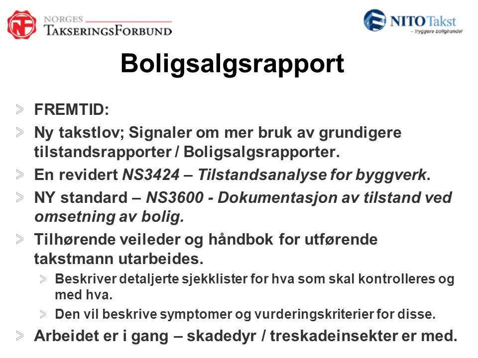 Boligsalgsrapport FREMTID:
