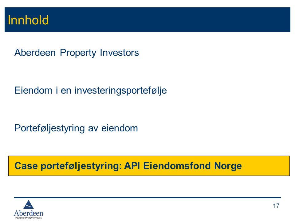 Kort om fondet Etablert sommeren 2004 som Norges første diversifiserte eiendomsfond.