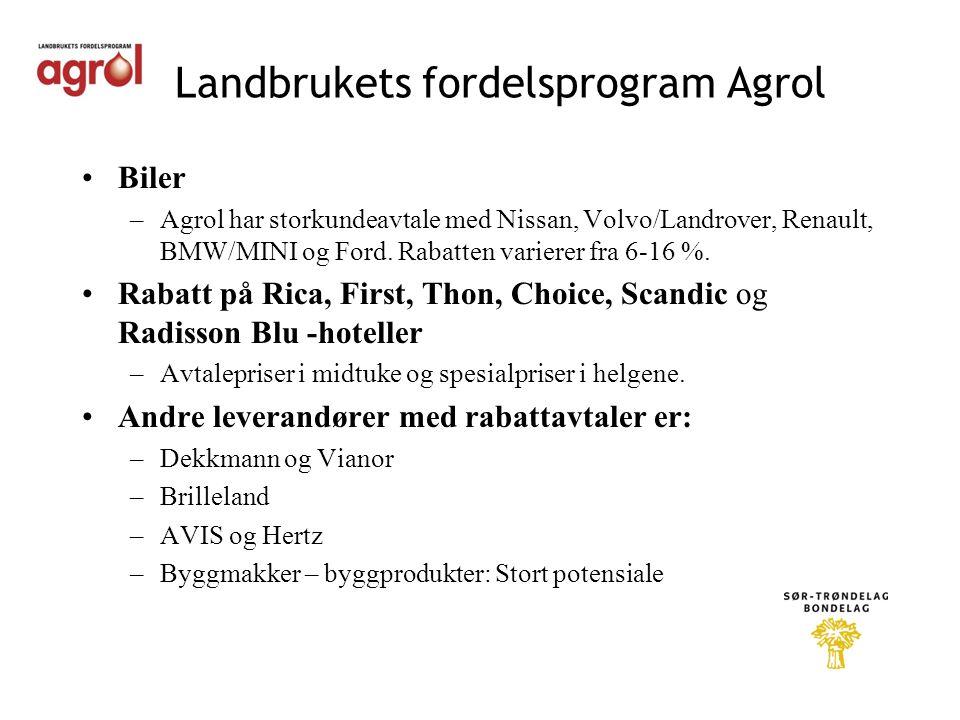Landbrukets fordelsprogram Agrol