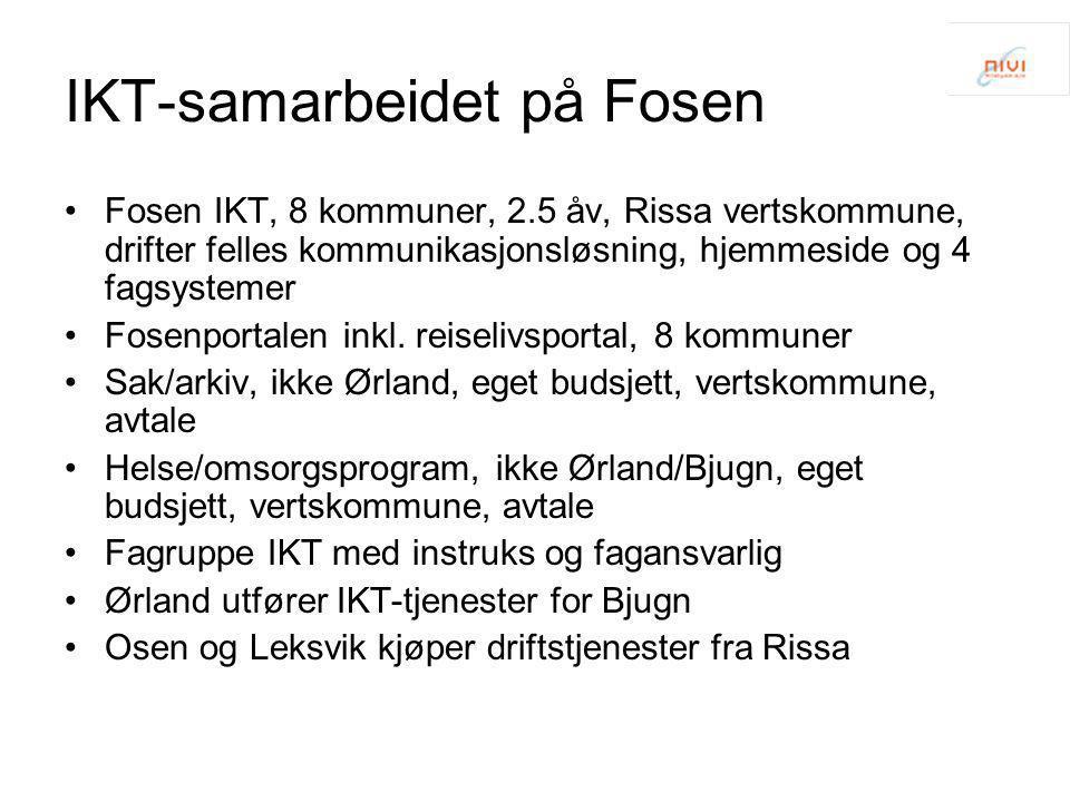 IKT-samarbeidet på Fosen