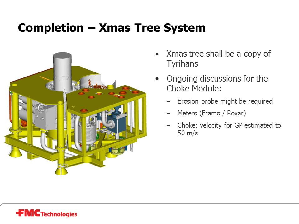 Completion – Xmas Tree System