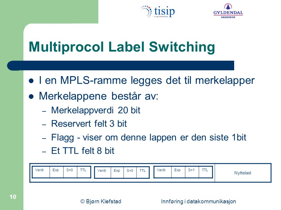 Multiprocol Label Switching