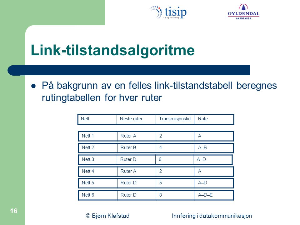 Link-tilstandsalgoritme