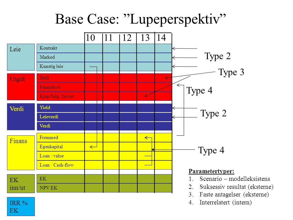 Base Case: Lupeperspektiv