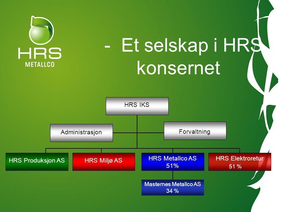 - Et selskap i HRS konsernet