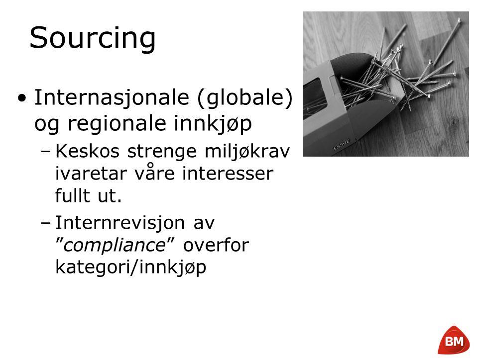 Sourcing Internasjonale (globale) og regionale innkjøp