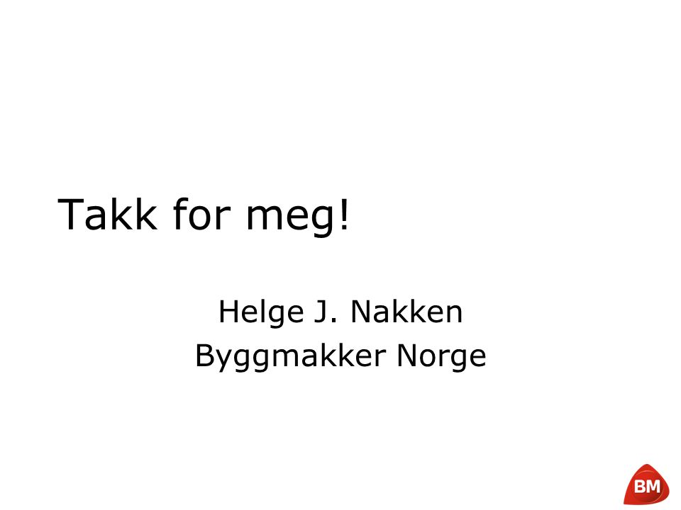 Helge J. Nakken Byggmakker Norge