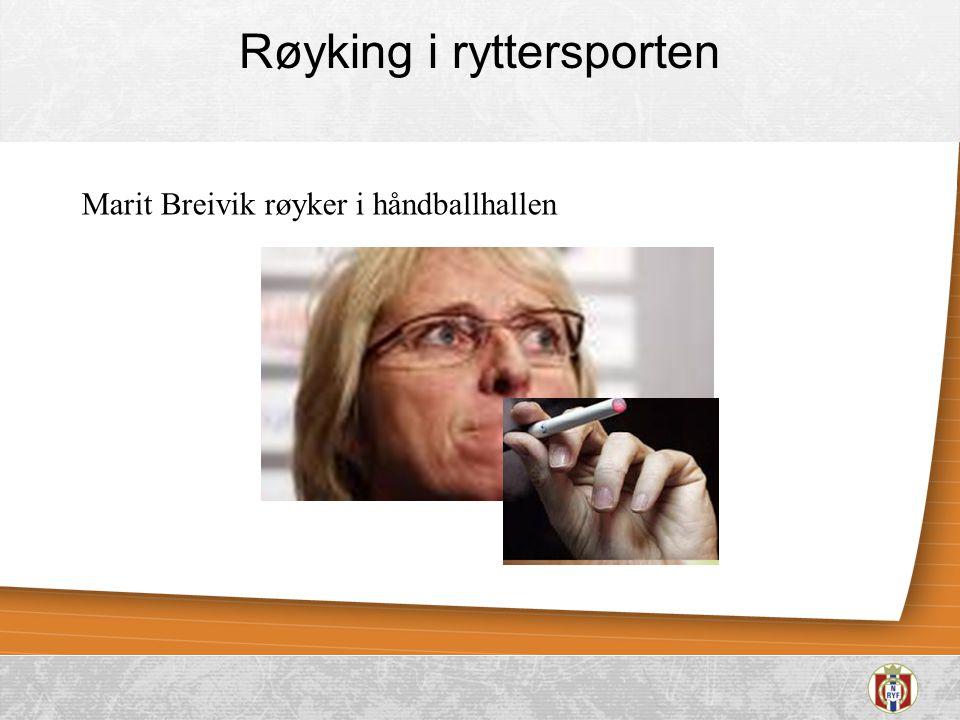 Røyking i ryttersporten