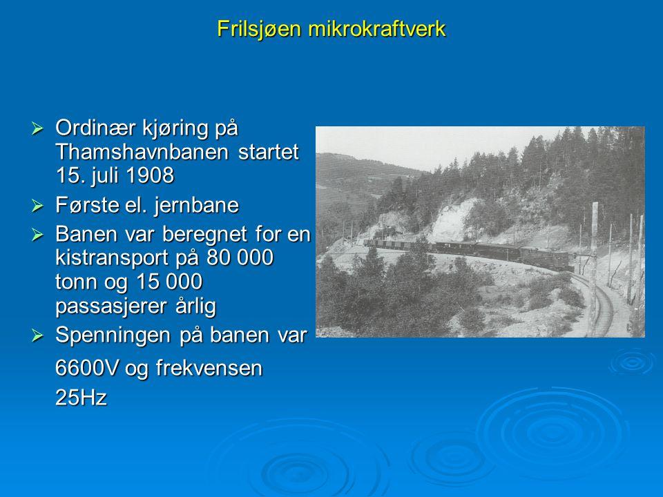 Frilsjøen mikrokraftverk