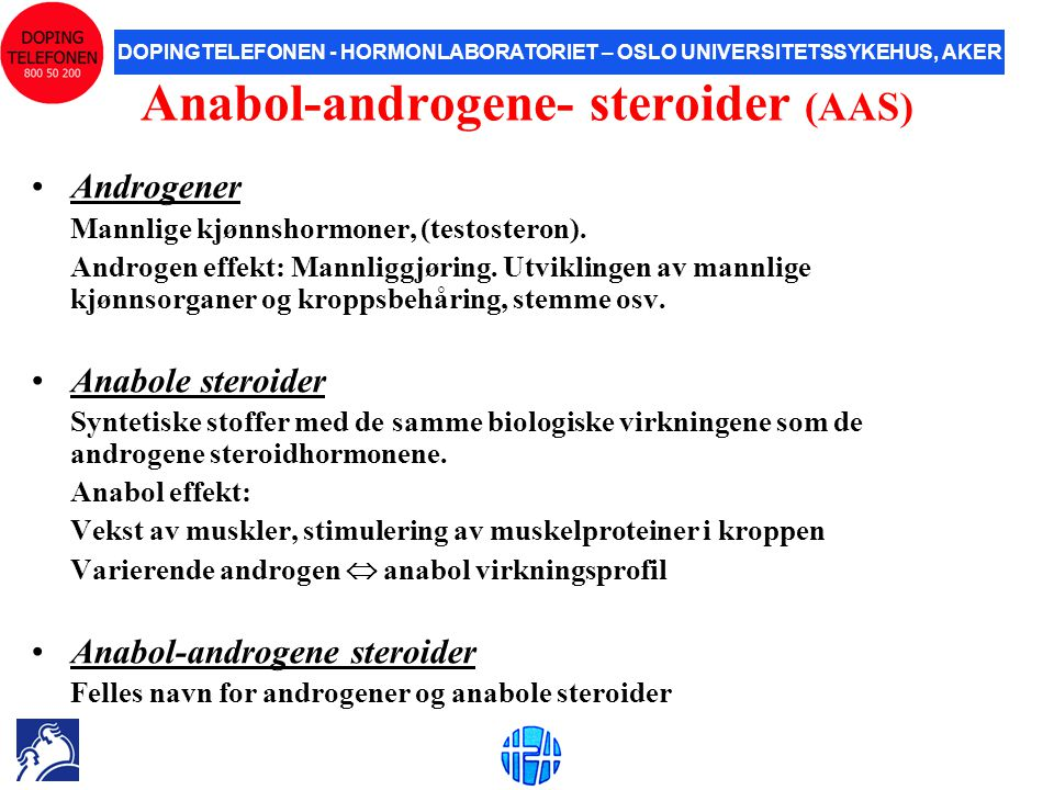 Anabol-androgene- steroider (AAS)