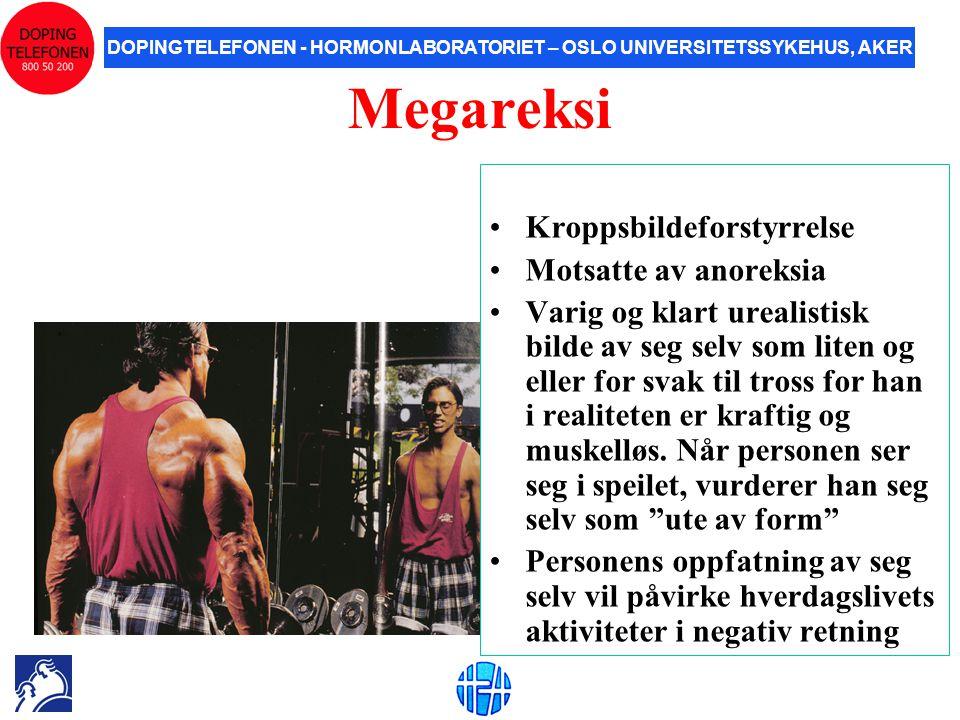 Megareksi Kroppsbildeforstyrrelse Motsatte av anoreksia