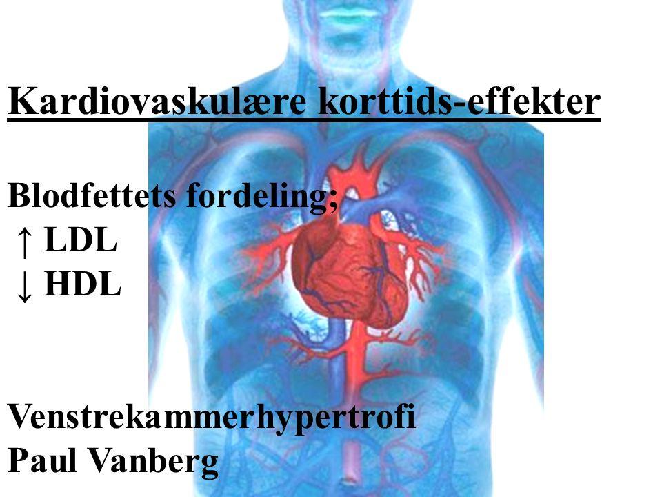 Kardiovaskulære korttids-effekter