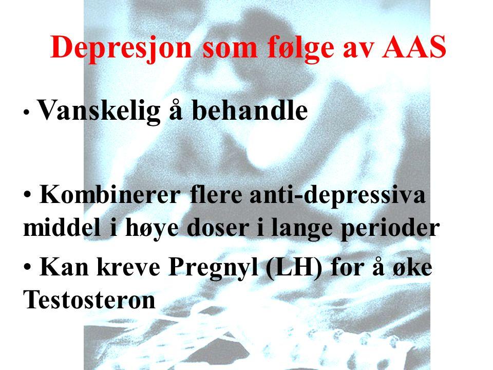 Depresjon som følge av AAS
