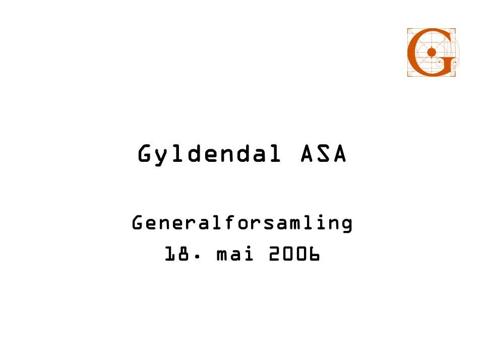 Generalforsamling 18. mai 2006