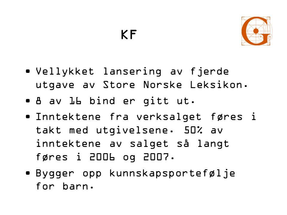 KF Vellykket lansering av fjerde utgave av Store Norske Leksikon.