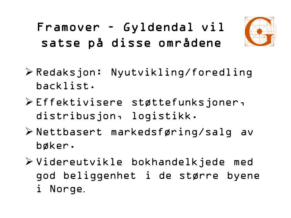Framover – Gyldendal vil satse på disse områdene