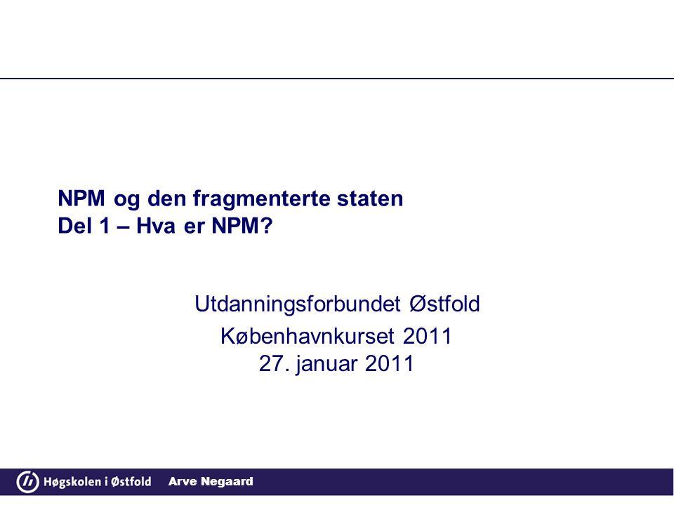 NPM og den fragmenterte staten Del 1 – Hva er NPM