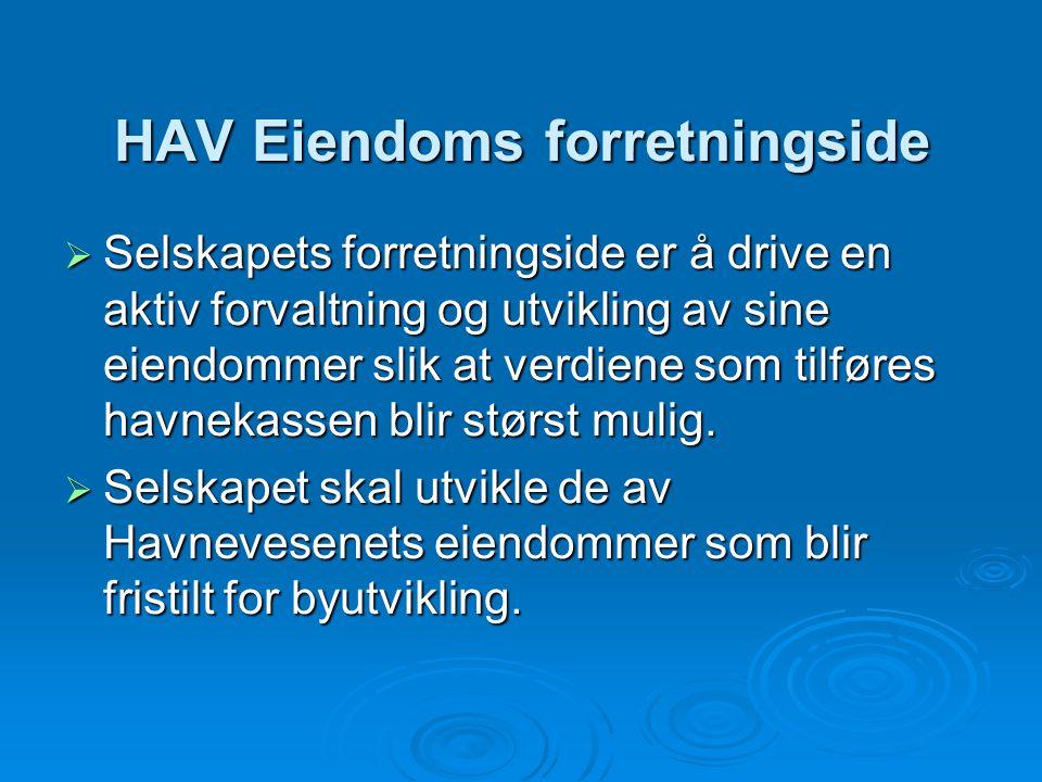 HAV Eiendoms forretningside