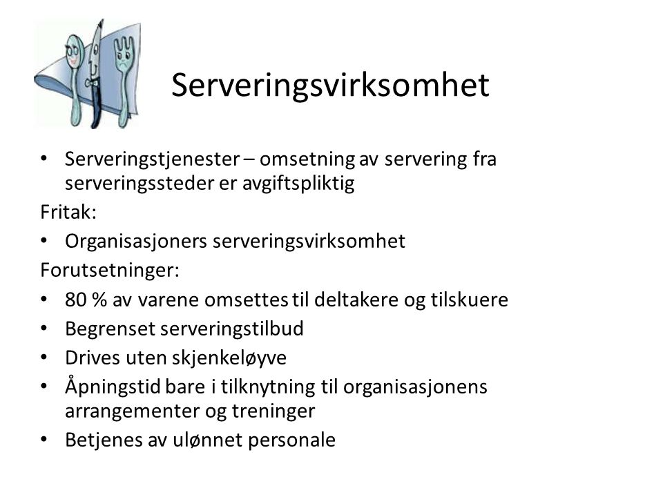 Serveringsvirksomhet