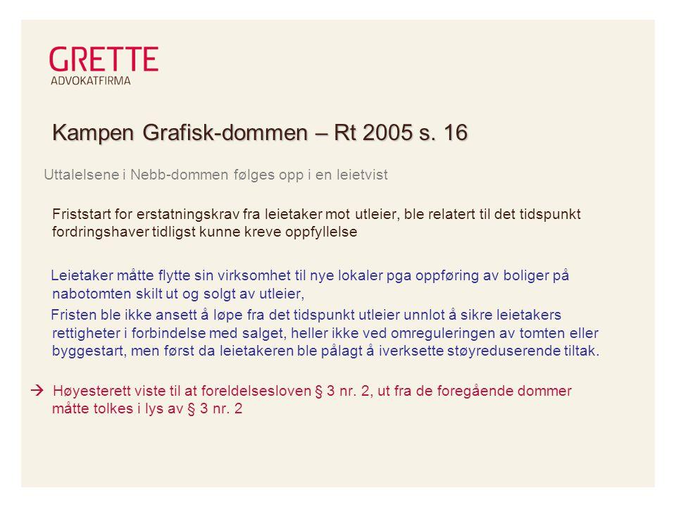 Kampen Grafisk-dommen – Rt 2005 s. 16