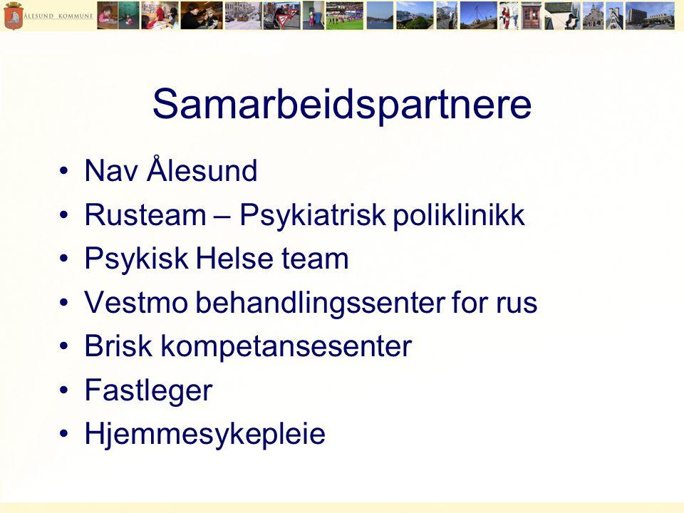 Samarbeidspartnere Nav Ålesund Rusteam – Psykiatrisk poliklinikk