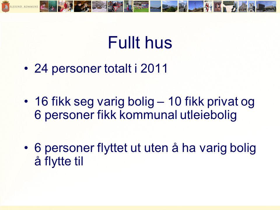 Fullt hus 24 personer totalt i 2011
