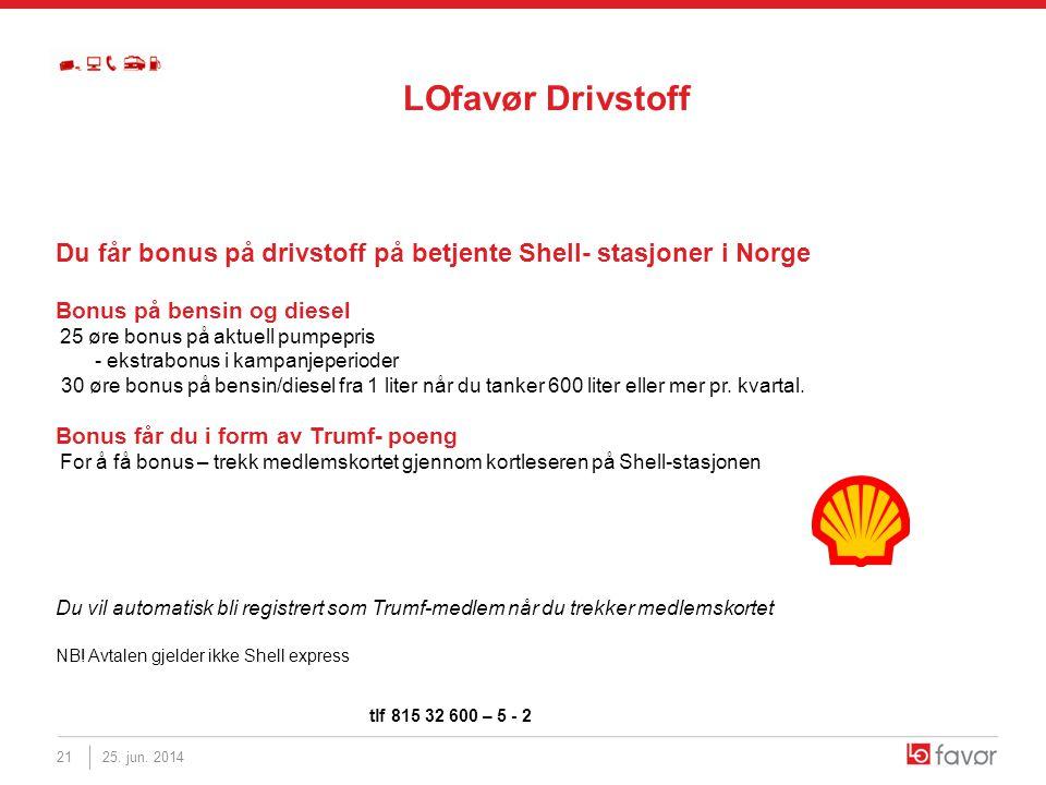 LOfavør Drivstoff Du får bonus på drivstoff på betjente Shell- stasjoner i Norge. Bonus på bensin og diesel.