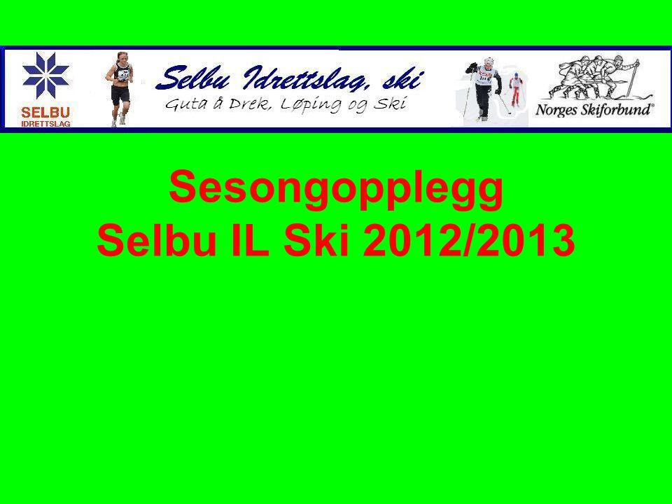 Sesongopplegg Selbu IL Ski 2012/2013