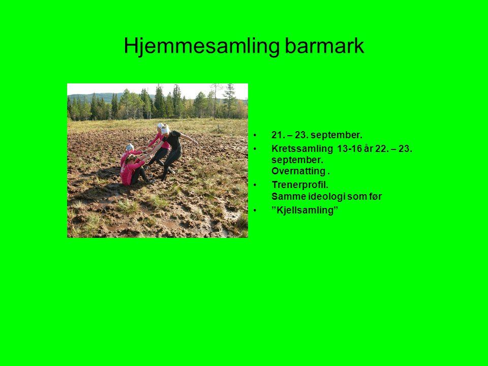 Hjemmesamling barmark