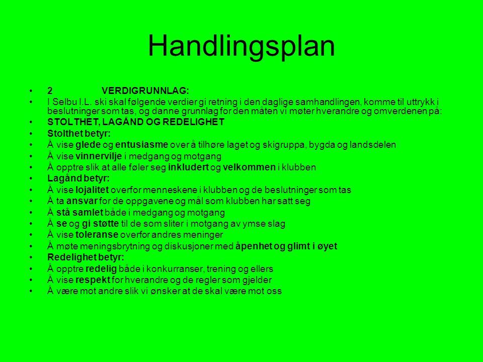 Handlingsplan 2 VERDIGRUNNLAG: