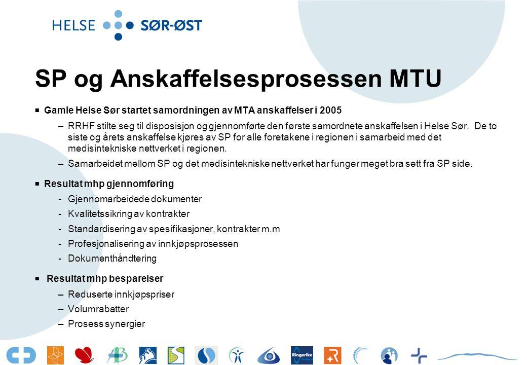 Anskaffelse av MTU