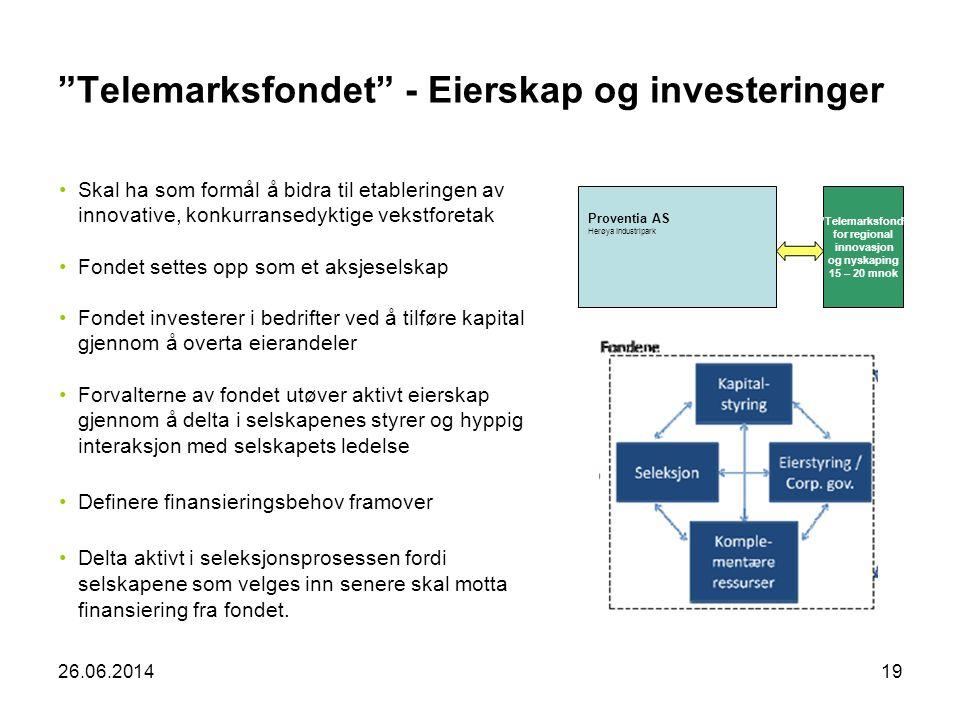 Telemarksfondet - Eierskap og investeringer