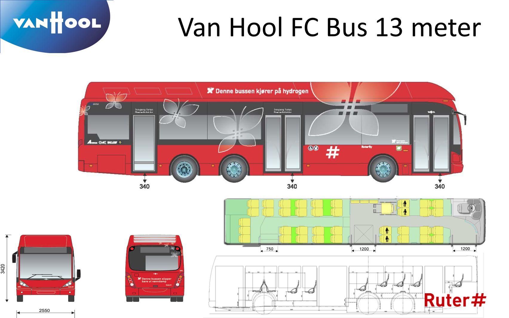 Van Hool FC Bus 13 meter