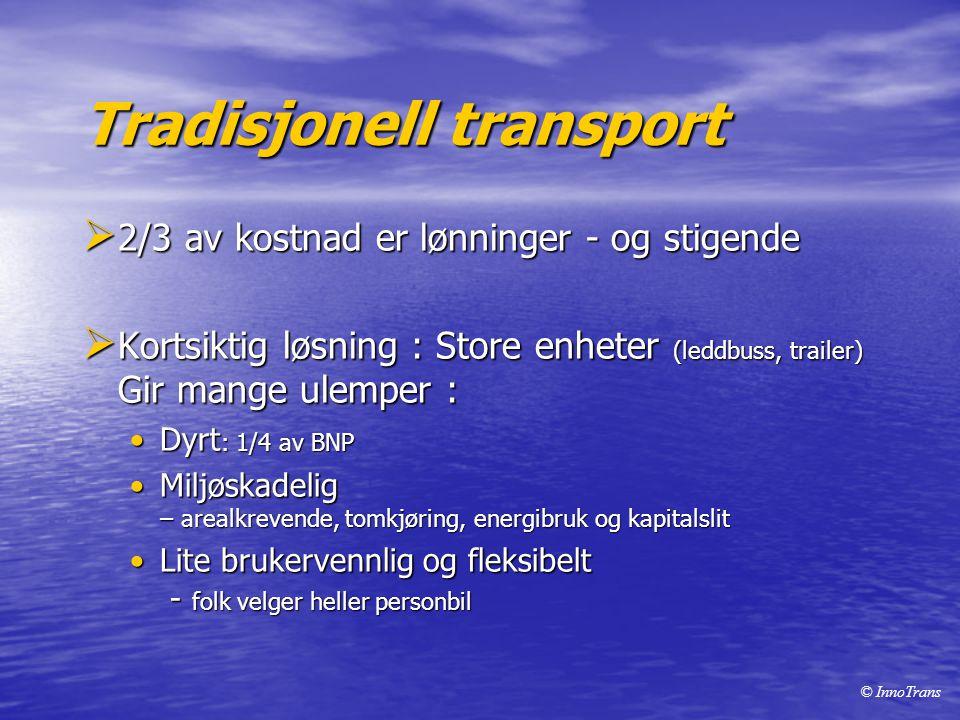 Tradisjonell transport