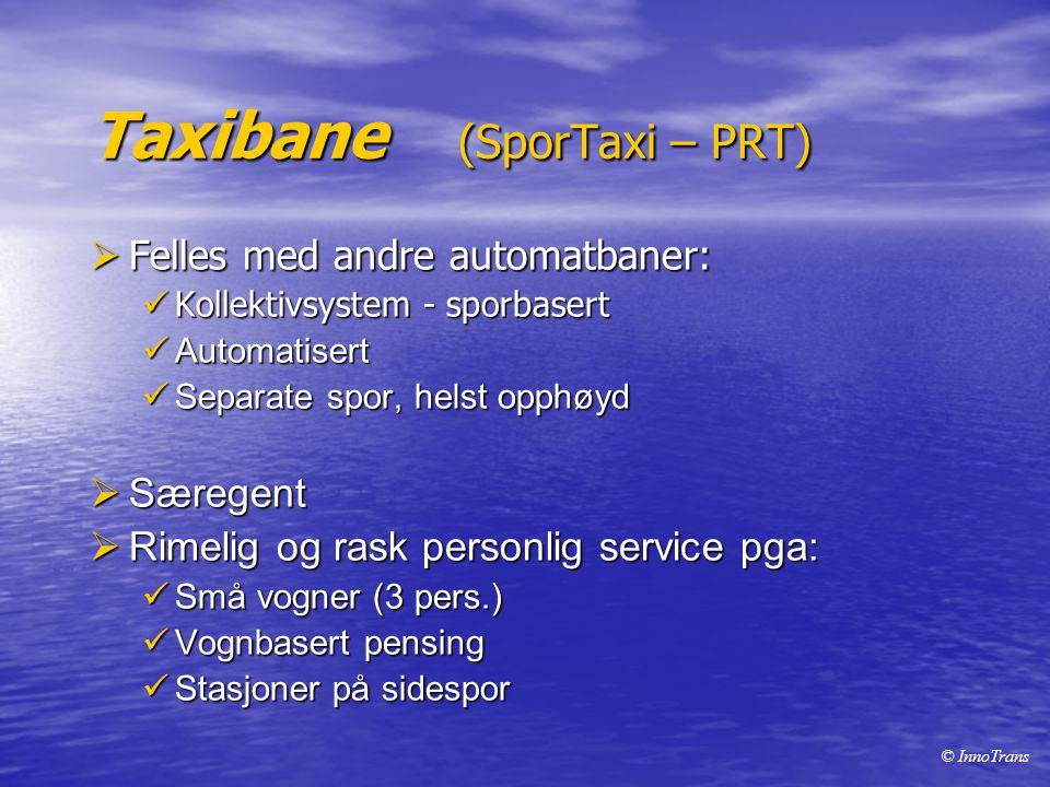 Taxibane (SporTaxi – PRT)