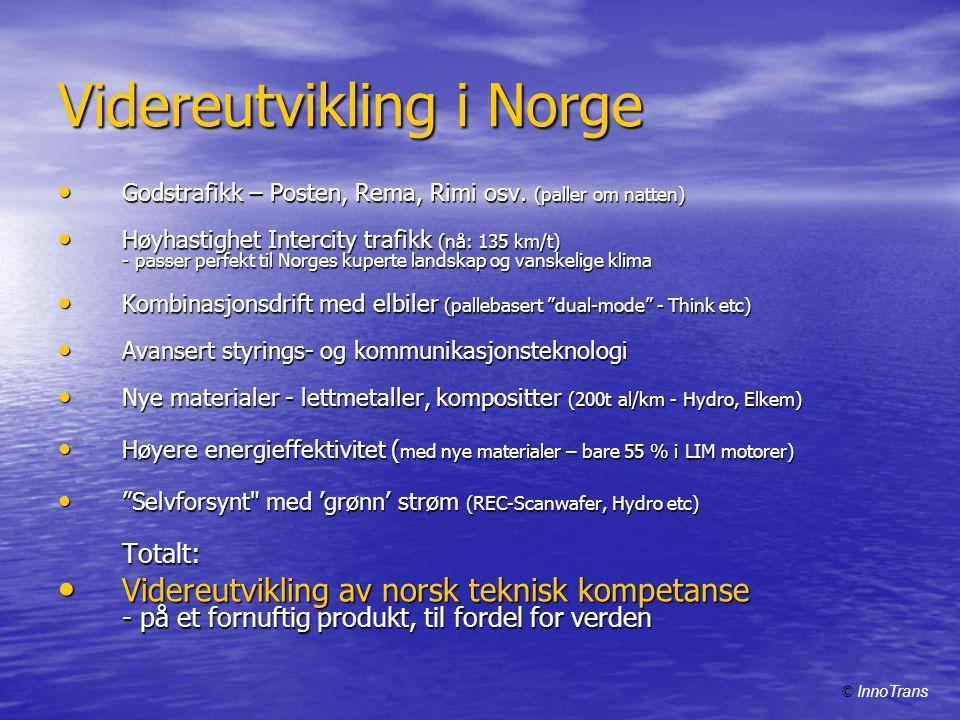Videreutvikling i Norge