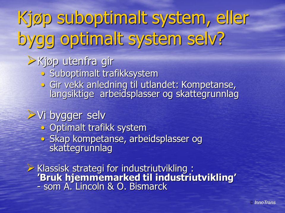 Kjøp suboptimalt system, eller bygg optimalt system selv