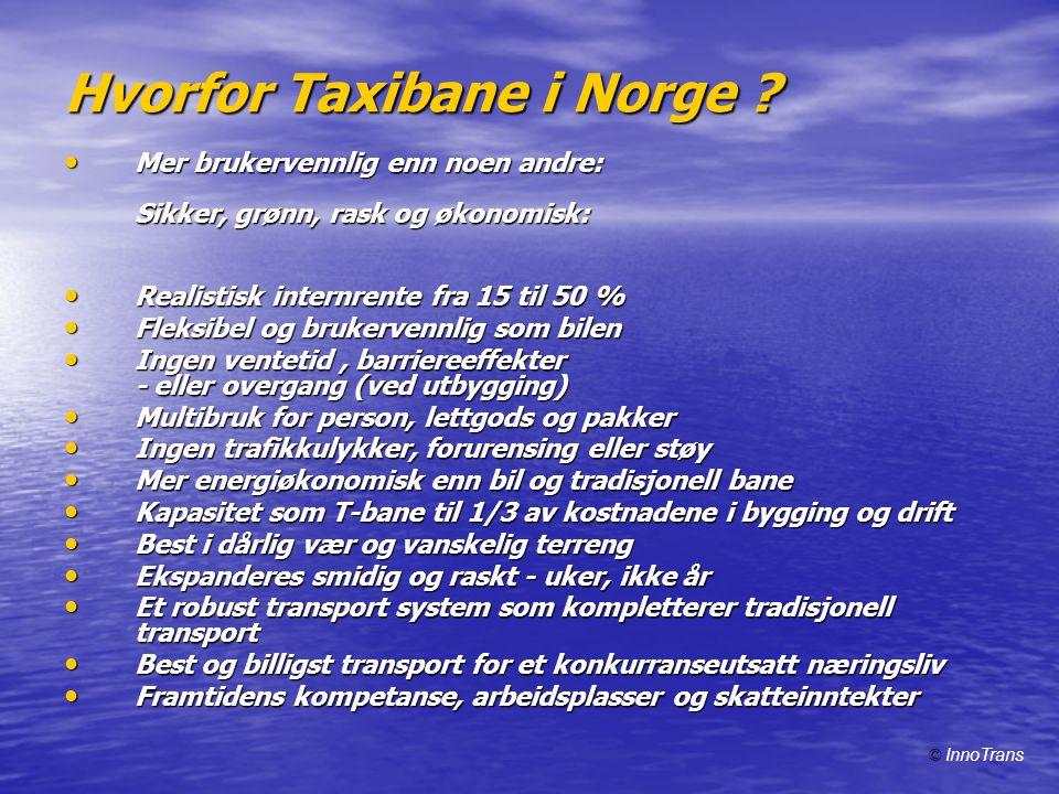 Hvorfor Taxibane i Norge