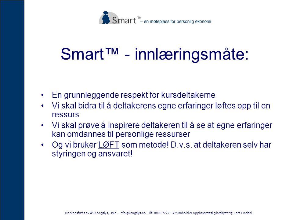 Smart™ - innlæringsmåte: