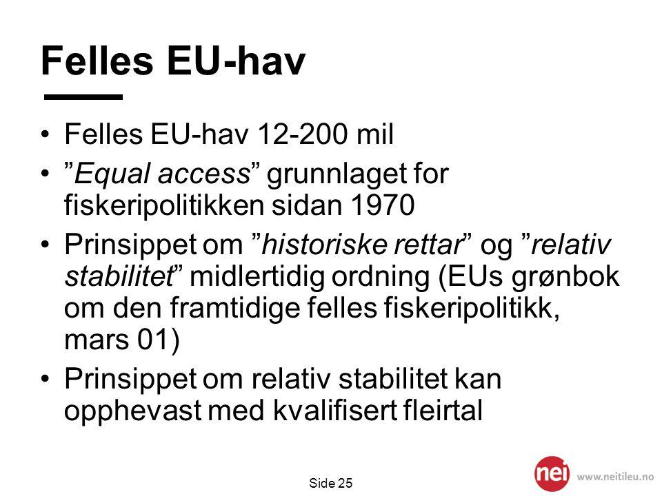 Felles EU-hav Felles EU-hav 12-200 mil