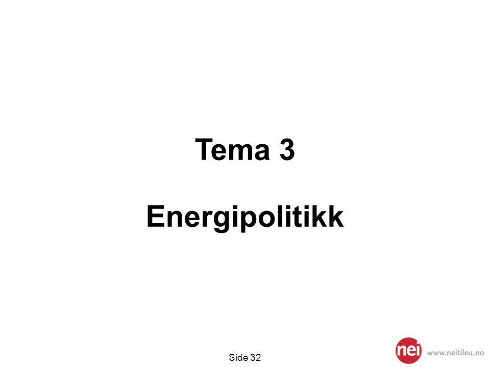 Tema 3 Energipolitikk