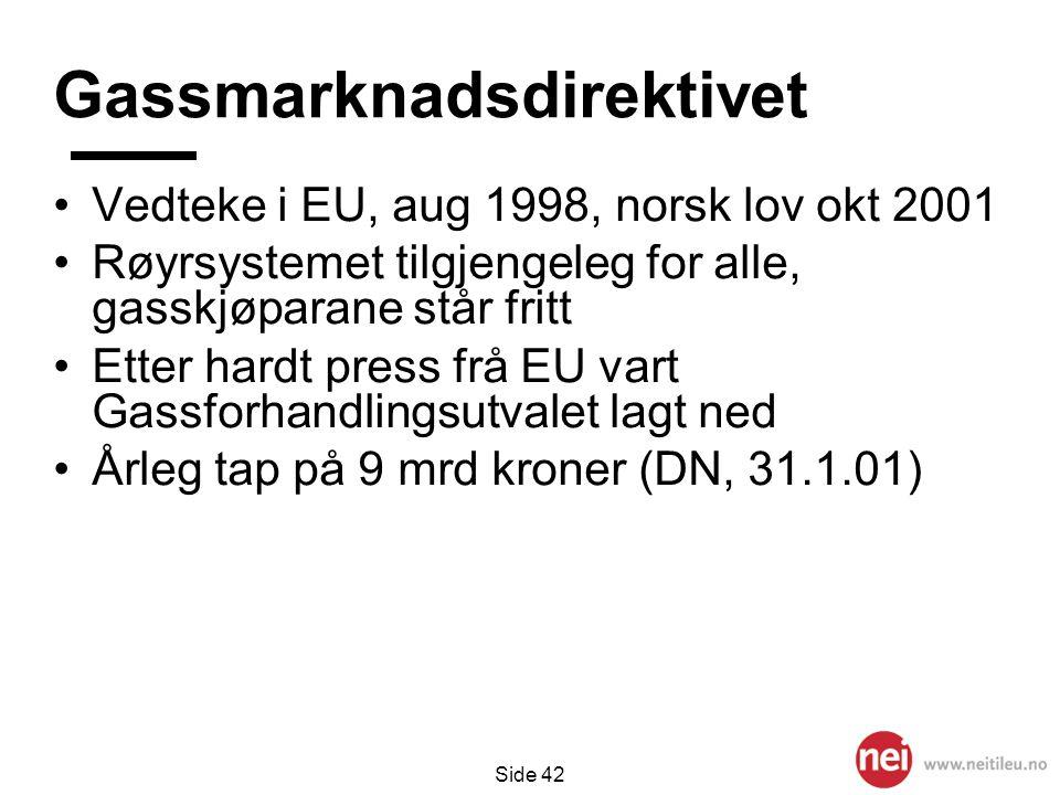 Gassmarknadsdirektivet