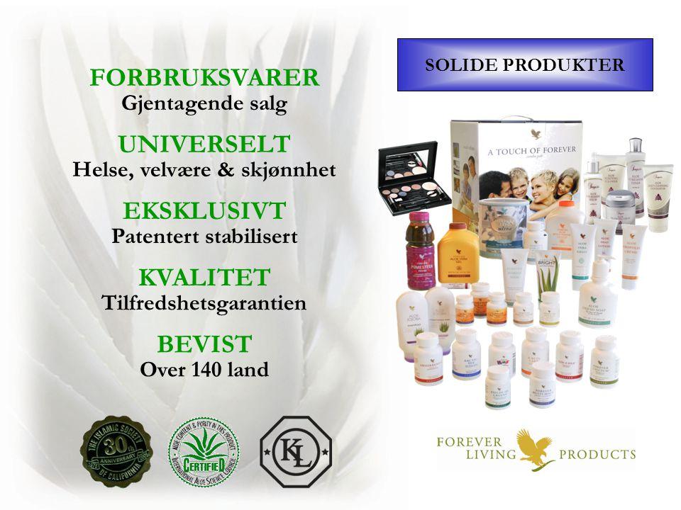 Helse, velvære & skjønnhet Patentert stabilisert Tilfredshetsgarantien