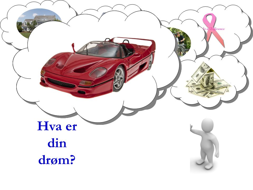 Hva er din. drøm Dream no small dreams for they have no power to move the hearts of men. (Goethe)
