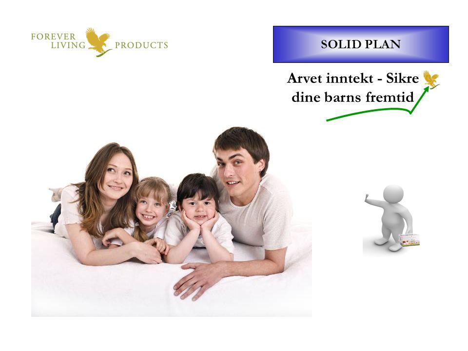 Arvet inntekt - Sikre dine barns fremtid