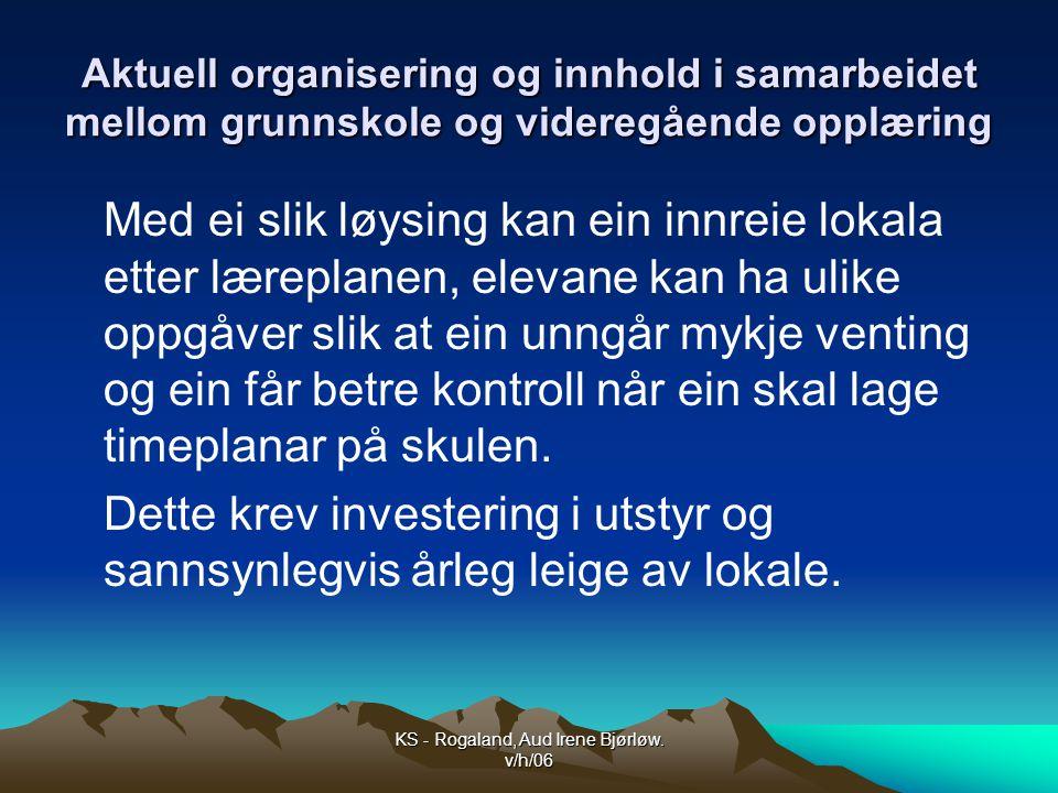 KS - Rogaland, Aud Irene Bjørløw. v/h/06