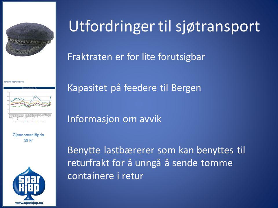 Utfordringer til sjøtransport
