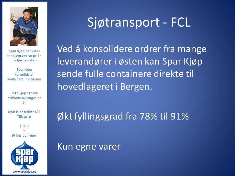 Sjøtransport - FCL